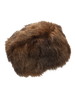 Ruby and Ed Brown Faux Bear Fur Cossack Hat | New Look
