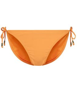 Orange Tie Side Bikini Bottoms | New Look