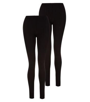 Tall 2 Pack Black Leggings