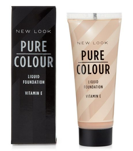 Pure Colour Tan 04 Liquid Foundation | New Look