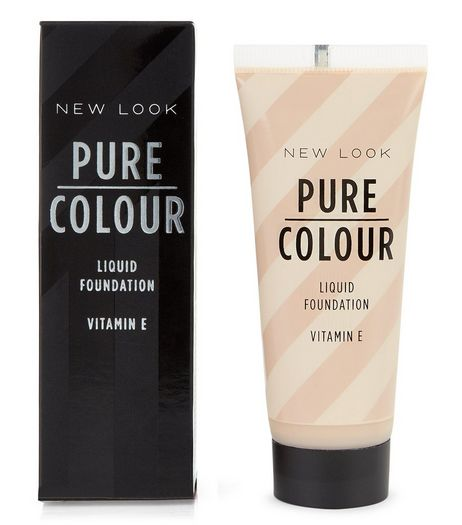 Pure Colour Honey Nude Liquid Foundation | New Look