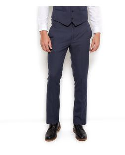Blue Slim Fit Suit Trousers | New Look