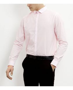 Pink Long Sleeve Shirt | New Look