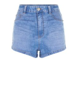 Blue Disco Shorts  | New Look