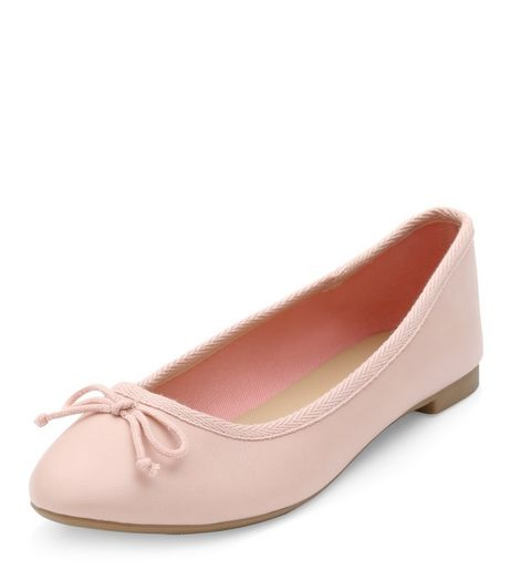 Stone Ballet Pumps  | New Look