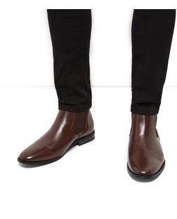 Brown Chelsea Boots  | New Look