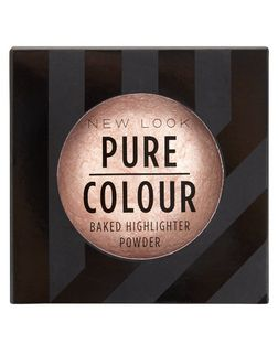 Pure Colour Pink Baked Highlighter Powder  | New Look