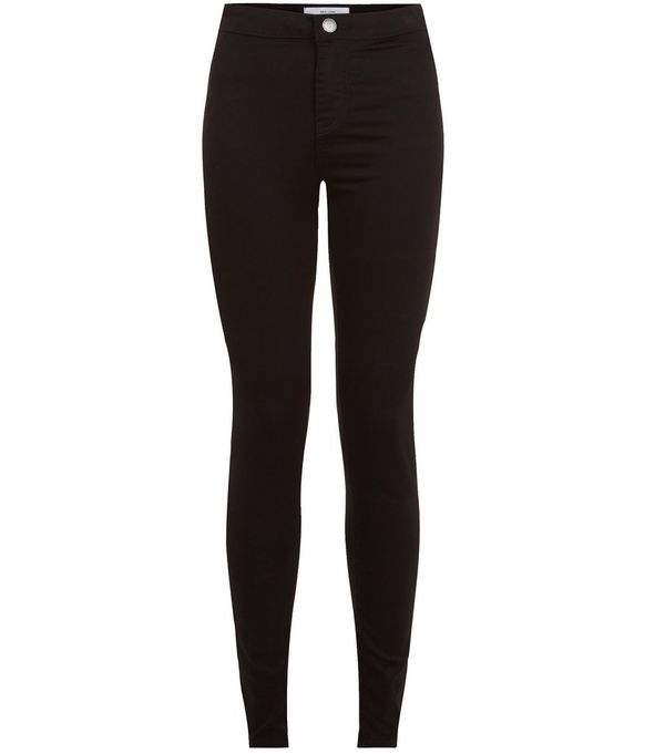 Black High Waist Super Skinny Jeans