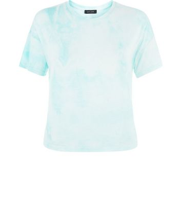 Mint Green Tie Dye T-Shirt
