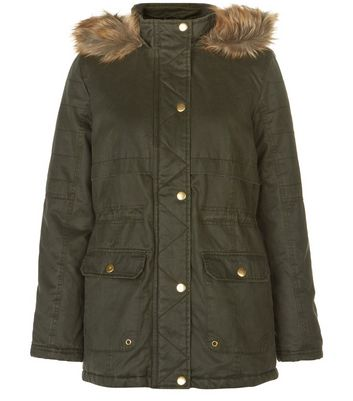 teens-khaki-premium-faux-fur-trim-hooded-parka