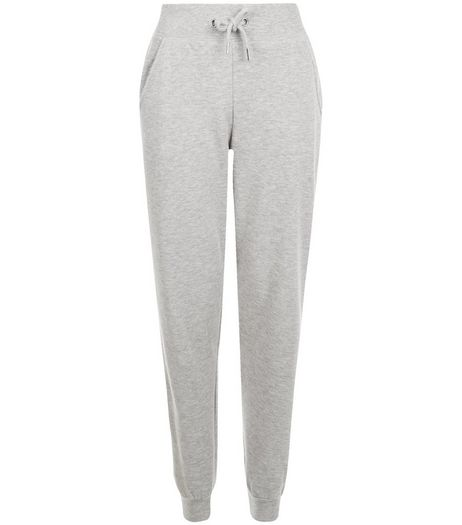 Grey Slim Leg Joggers  | New Look