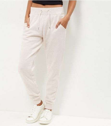 Stone Slim Leg Joggers  | New Look