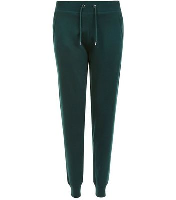 Dark Green Slim Leg Joggers