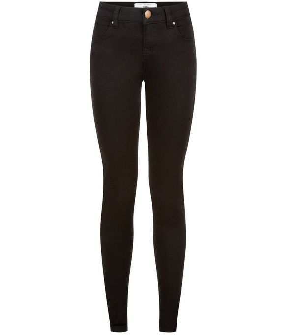 Petite 28in Black Supersoft Super Skinny Jeans