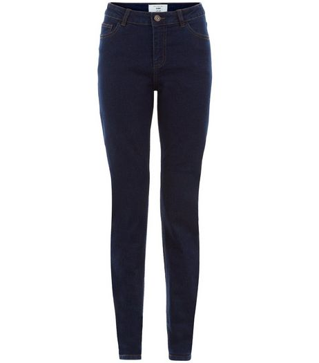 Tall 36in Navy Skinny Jeans  | New Look