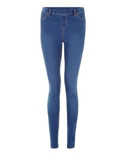 Tall 36in Blue Jeggings  | New Look