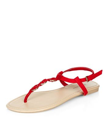 red-woven-hoop-sandals