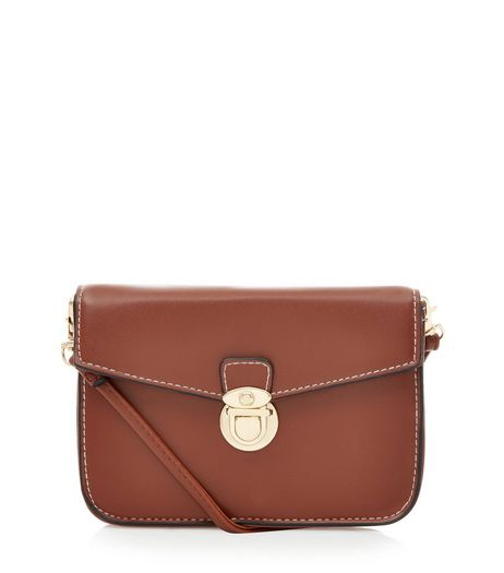 Tan Mini Satchel Bag | New Look