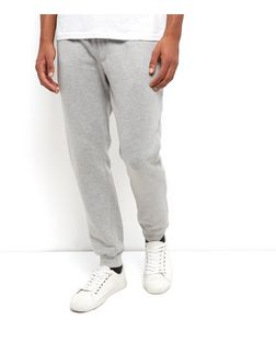 Grey Basic Joggers | New Look