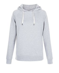 Grey Basic Hoodie | New Look