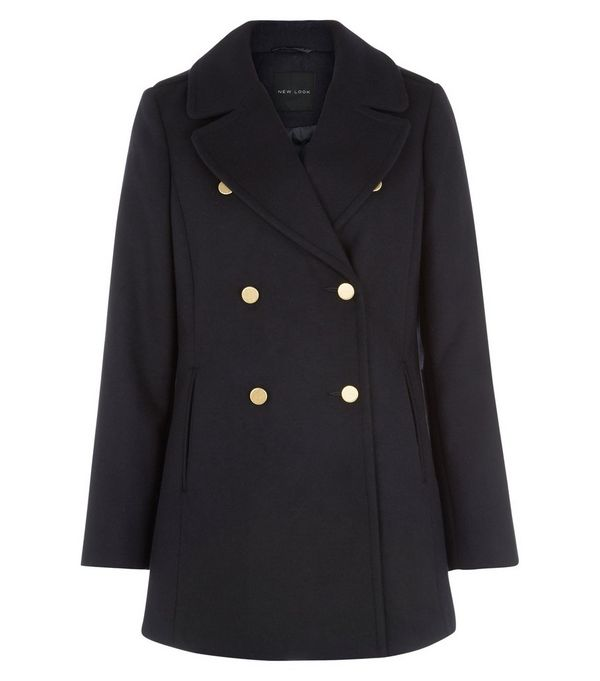 Women S Long Pea Coat Uk - Tradingbasis
