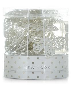 White Butterfly Fairy Lights  | New Look