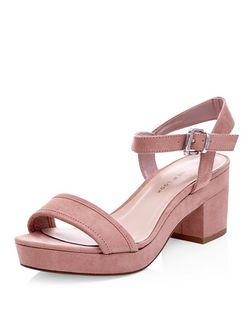 Teens Stone Platform Sandals  | New Look