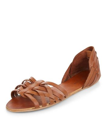 tan-leather-woven-sandals