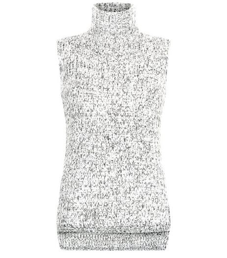 Grey Twist Knit Sleeveless Jumper  | New Look