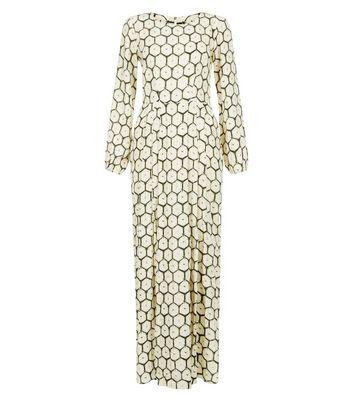 closet-cream-abstract-print-maxi-dress