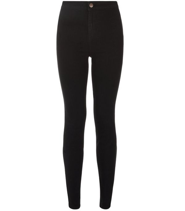 Black Supersoft Super Skinny Jeans