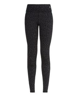 Teens Grey Space Dye Sports Leggings | New Look