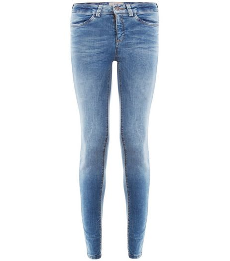 Blue Authentic Skinny Jeans  | New Look