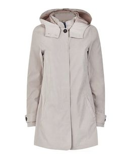 JDY Stone Hooded Coat | New Look