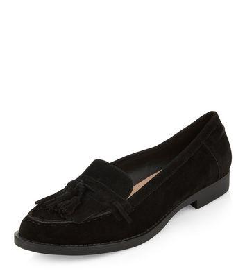 Mocassini  donna Black Fringed Tassel Loafers