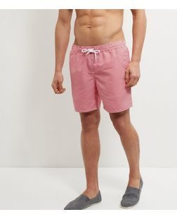 Red Stripe Swim Shorts  | New Look