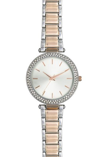 silver-rose-gold-diamante-sports-watch