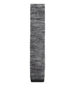 Grey Knitted Tie  | New Look