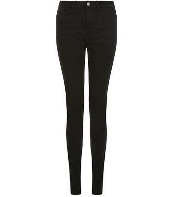 Tall 36in Black Supersoft Super Skinny Jeans