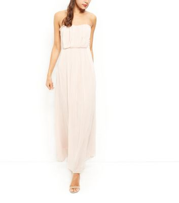 Product photo of Ax paris stone chiffon pleated maxi dress