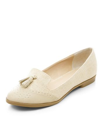 Mocassini  donna Stone Contrast Embossed Tassel Front Loafers