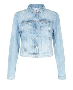 Light Blue Denim Jacket  | New Look