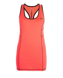 Only Pink Contrast Panel Sports Vest | New Look