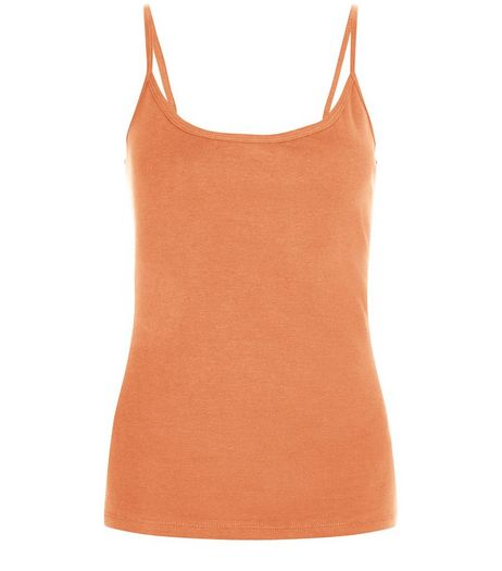Brown Scoop Neck Cami | New Look