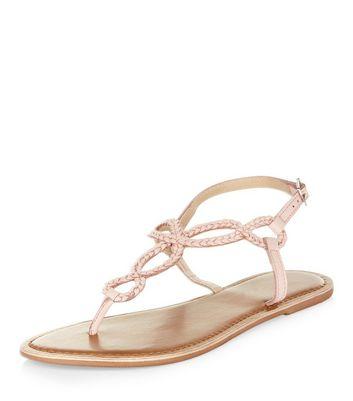 pink-leather-twist-plait-sandals