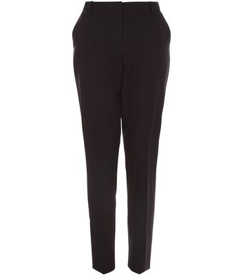Black Stretch Slim Fit Trousers