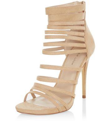 Sandalo  donna Stone Suedette Multi Strap Heels
