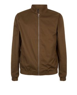Khaki Harrington Jacket  | New Look