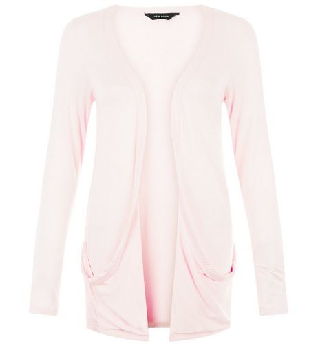 Shell Pink Boyfriend Cardigan | New Look