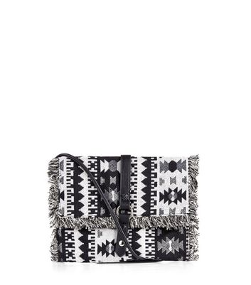 black-tribal-textured-across-body-bag